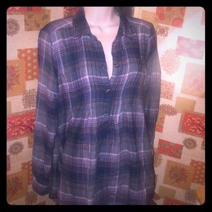 🦅 A & E 🦅 Flannel Shirt Dress